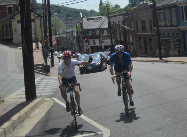 Climbing Frederick rd in Ellicott City